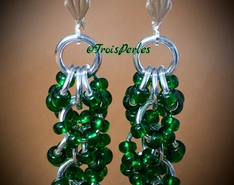 01 Chain Maille earrings - Chainmaille earrings
