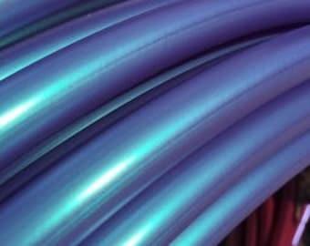 """Poseidon (color-shift) Polypro Custom Hoop 1/2"""", 5/8"""", 11/16"""" & 3/4"""""""