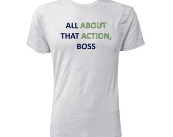 All About That Action, Boss - NLA Heather White