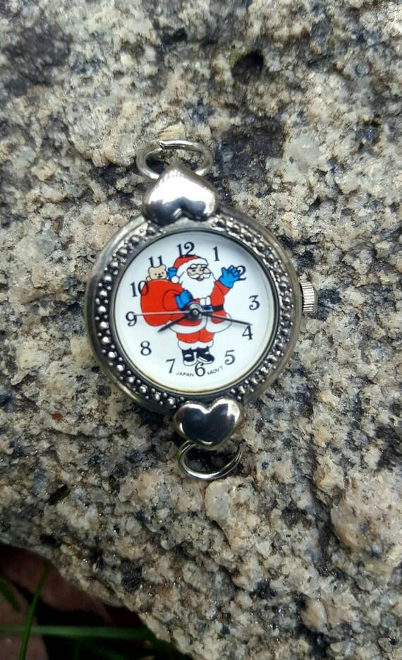 Santa Beading Watch Face, Christmas Watch Face