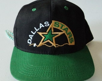 Vintage Dallas Stars Tie-Back Hat NHL VTG