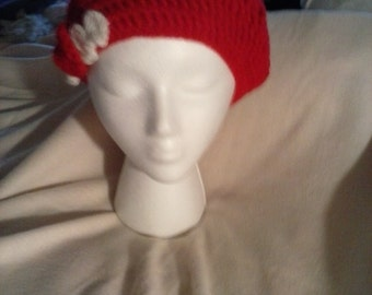 Red slouch hat