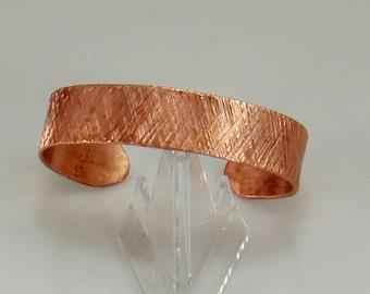 Rose Gold Hammered Copper Cuff Bracelet, Copper Bracelet, Cuff Bracelet, Copper Cuff, Copper Bangle, Copper Jewelry, Copper Anniversary
