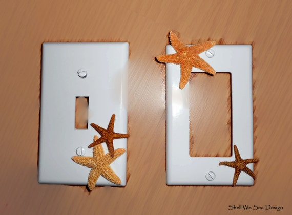 Items Similar To Coastal Beach Decor Light Switch Cover