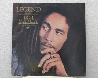 """Bob Marley & The Wailers - """"Legend: The Best Of Bob Marley And The Wailers"""" vinyl record (NT)"""