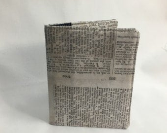 Dictionary Pages Wallet