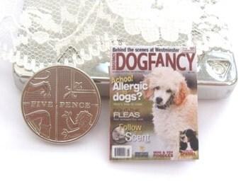 dollhouse magazine dog fancy   12th scale miniature
