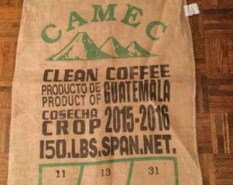 Jute Burlap Coffee Bean Sack/Bag