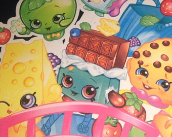 Shopkins Door Sign or Wall Hanging