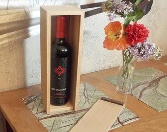 20 - Wine Box for a Full 750ml Full Bottle