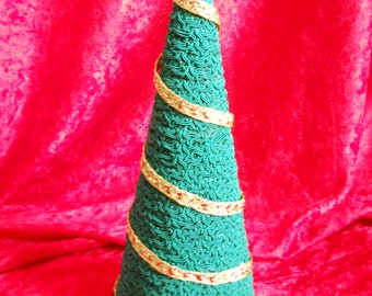 "10"" Tall  Green Cone Tree"