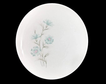 Taylor Smith Taylor Boutonniere Dinner Plates Four (4) TST Mid Century Dinnerware