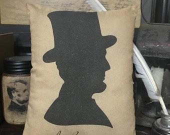 Abraham Lincoln Pillow