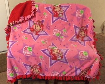 Strawberry short cake blanket