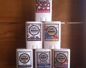 Pick SIX- Travel Size Natural Deodorant - / Really Works / Aluminum paraben FREE / Made with Organic Oils - Choose your Scent