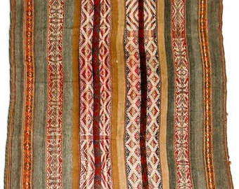 Vintage Peruvian Manta/Throw 39