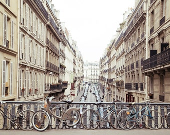 Paris photography,bicycles,Paris print, Affordable home decor, Pastel photography, feminine photo
