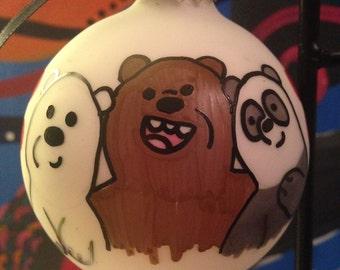 We Bare Bears Ornament