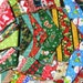 50 Christmas Dog Grooming BANDANAS  Finished  Holiday  Pet Scarf Tie On BANDANNA choose size Xs S M L Xl
