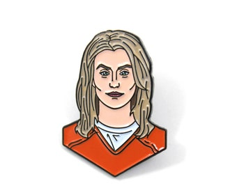 Orange Is The New Black Piper Chapman Soft Enamel Pin