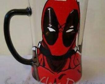 Deadpool Superhero Beer Mug