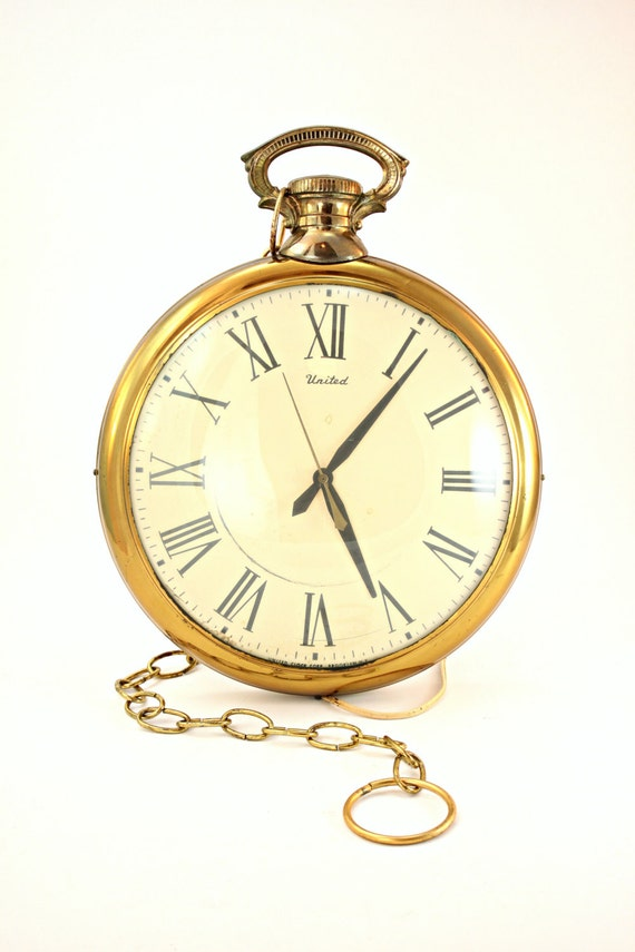 pocket watch wall clock pocket wall clock united pocket wall clock 11132