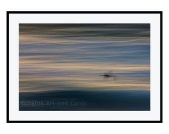 Abstract Seascape Wall Art Print - Nature Photography, Modern Home Decor