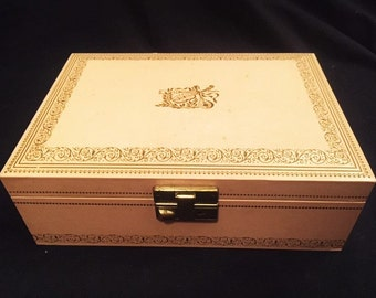 Pink jewelry box with pink lining