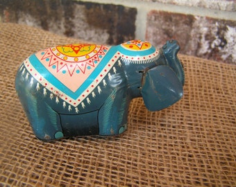 Circus Parade Wind-Up Elephant