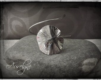 Bracelet stainless steel adjustable Psylle plant dreamlike fairy elven Lotus