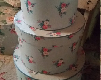 Vintage Paper Hat Boxes