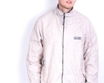 Scotch&Soda Mens XL Jacket Beige Sport Full Zipper