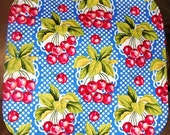 Vintage Cherries - Dish Drying Quilt