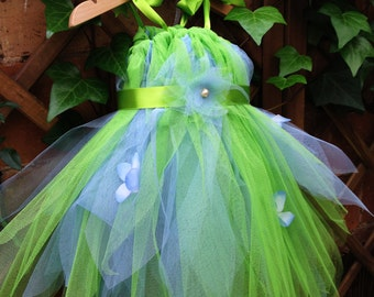 Custom made Princess dress tulle Fairy costume girl summer party dress Halloween