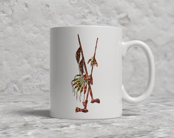 Peace Pipe Mug, Native American Art