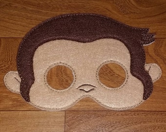 Curious Monkey Mask