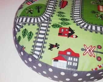 sweet floor cushions seat cushion 30 cm railway train rail