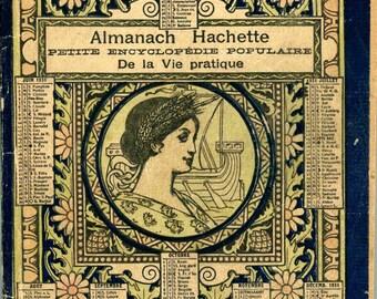 "1931 ""Almanach Hachette"", French Language Pocket Encyclopedia""  1931 ""Almanach Hachette"", Petite Encyclopdie Populaire"""