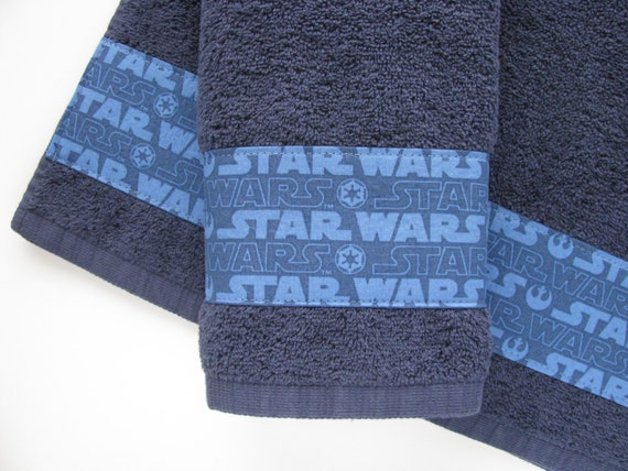 Ready To Ship Set Of 2 Towels Hand Towels Star Wars Star