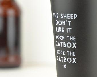 Rock the Catbox - Mistaken Lyrics Pint Glass