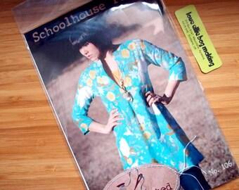 Women's Tunic Pattern - Schoolhouse Tunic Pattern - Sewing Pattern - PRINTED pattern