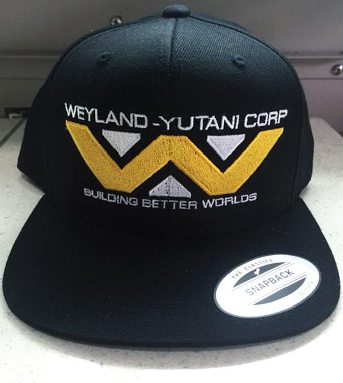 Weyland Yutani Corp Baseball Cap Alien Movie Sci Fi