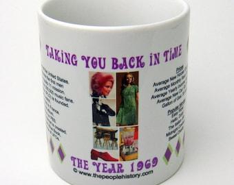 1969 Taking You Back In Time Coffee Mug
