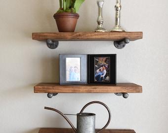 Brilliant Pipe Shelf Bathroom Shelves Kitchen Shelves Entryway Shelf