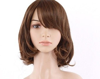 curly kawaii wig sintetic cosplay