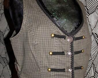 Upcycled Ladies Vest