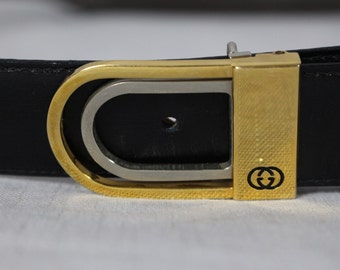 Amazing GUCCI leather 90s belt