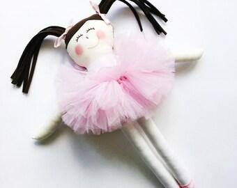 Handmade Ballerina Doll
