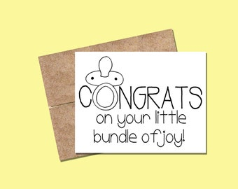 BABY/EXPECTING - Congrats on your little bundle of joy