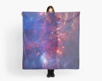 Galactic Center Space scarf - Galactic Center: NASA's Great Observatories Examine the Galactic Center Region
